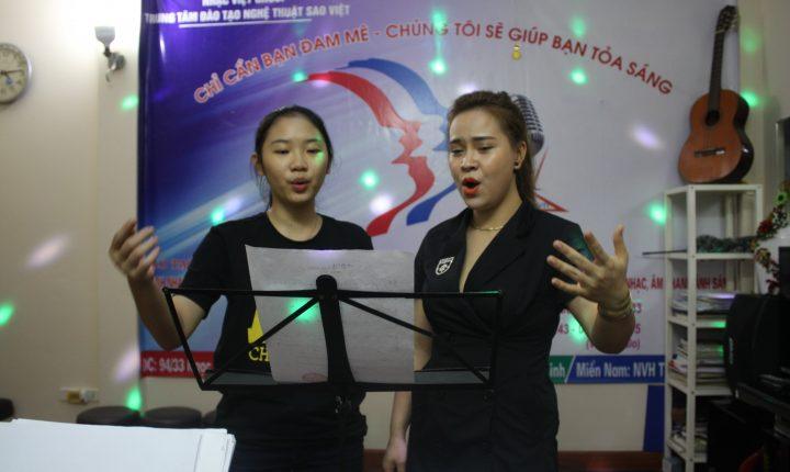 Khóa học thanh nhạc rẻ nhất Hà Nội