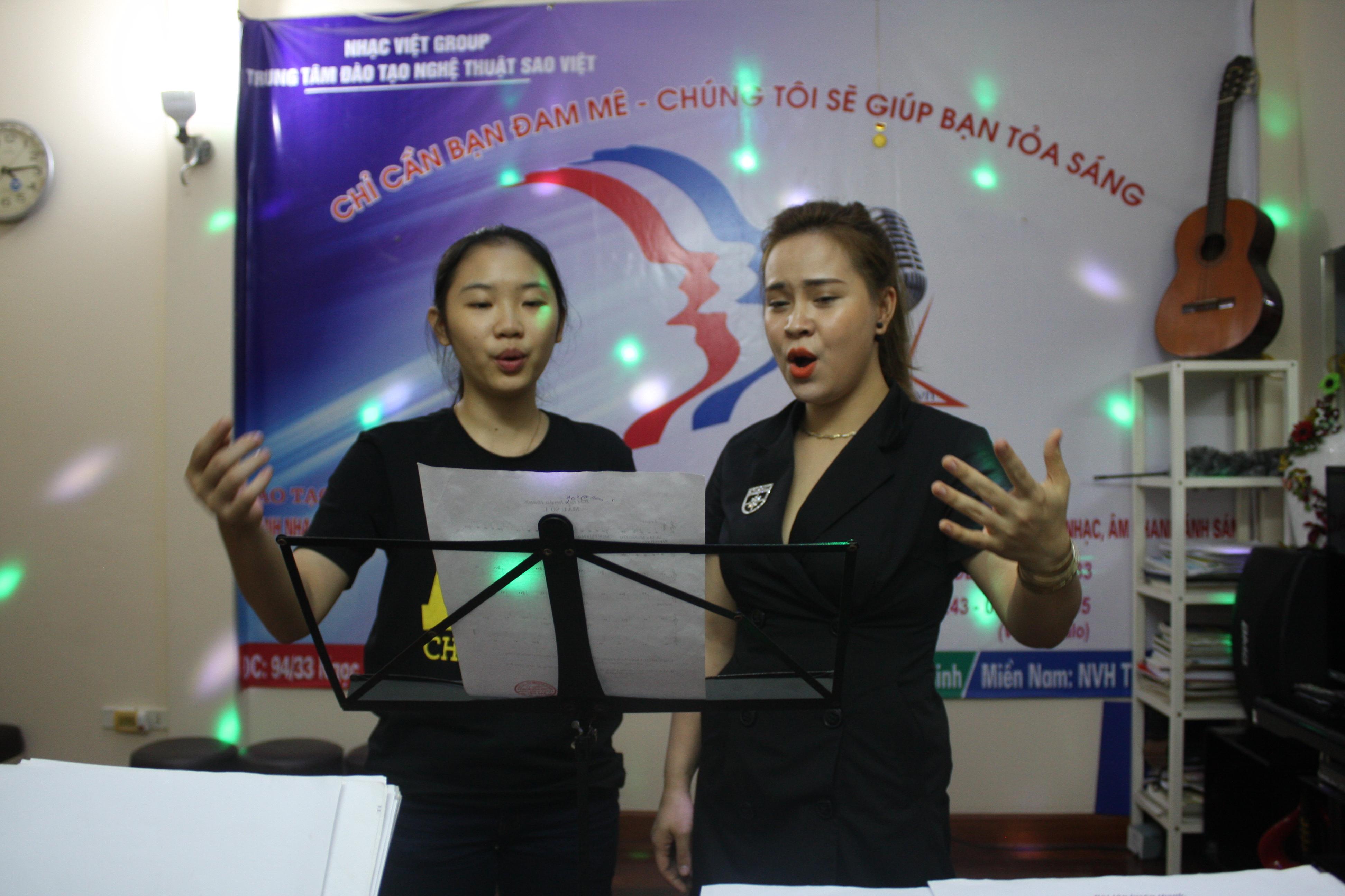 học hát tại hà nội