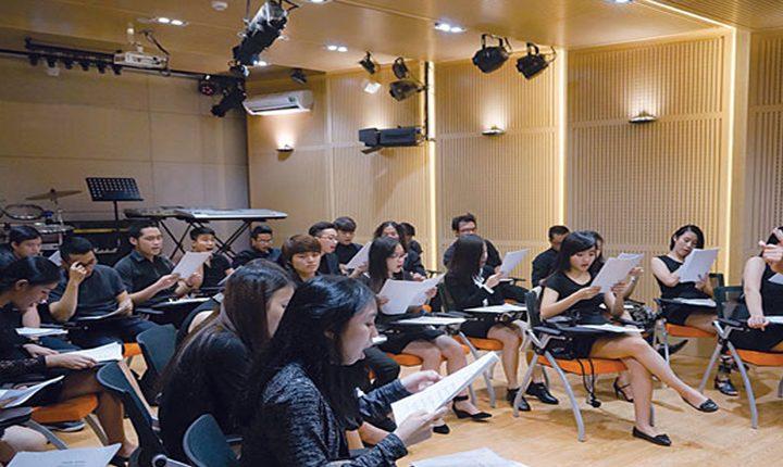Khoá luyện thi Học viện Âm nhạc