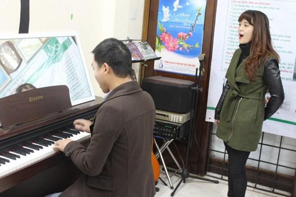 Đi học thanh nhạc ở Hà Nội