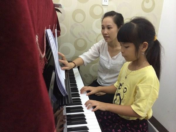 học thanh nhạc cho trẻ em ở Hà Nội